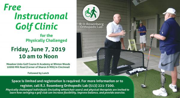 RJ Rosenberg Golf Clinic 2019
