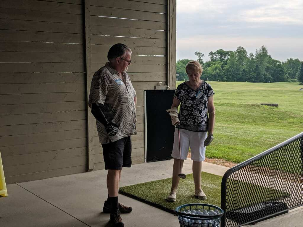 22nd annual Golf Clinic A Treat for All